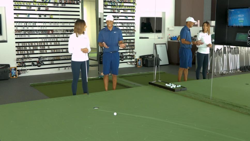 Tiger Golf Putting Simulator