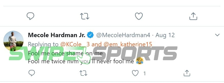 Mecole Hardman three 1