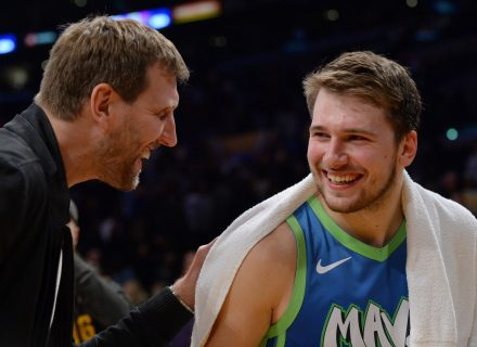 Dirk Nowitzki believes Luka Doncic has already eclipsed his level of play