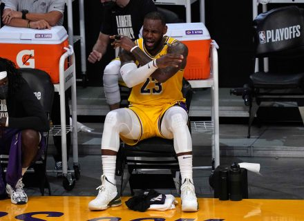LeBron James hopes to retire with Lakers