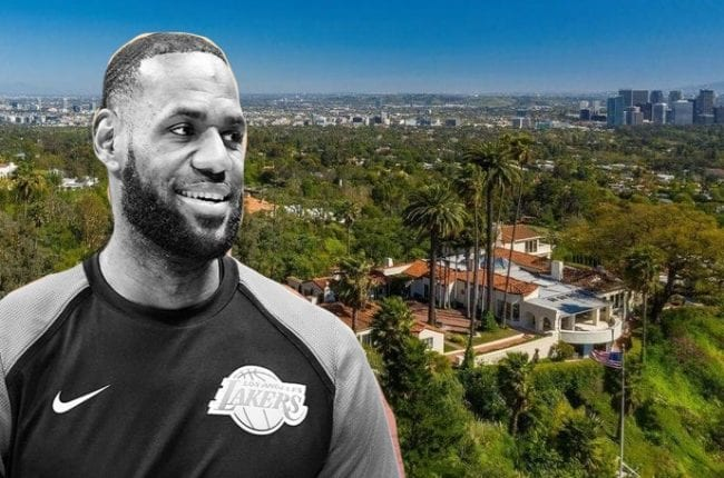 LeBron Beverly Hills Home