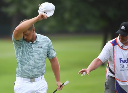 Bryson DeChambeau gripes about ants being in same area as his golf ball