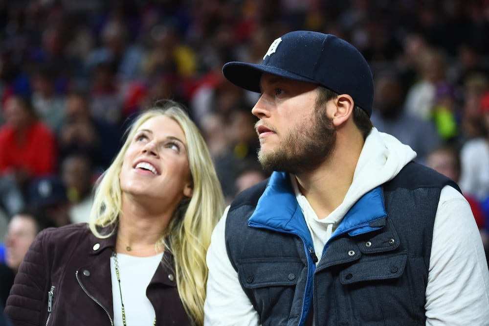 Matthew and Kelly Stafford USA Today