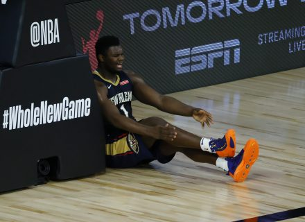 Zion Williamson struggling with lack of playing time, says it's 'very tough' for him