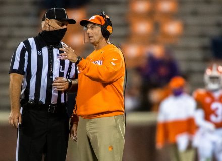 Dabo Swinney already trying to suppress Texans head coaching job rumors