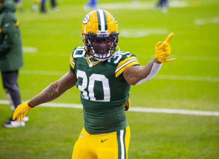 Jamaal Williams makes it clear he wants to play for Packers 'all my life'