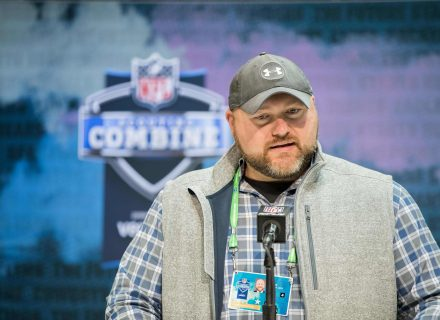 Jets GM Joe Douglas explains what his draft day trade process looks like